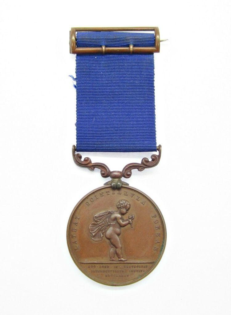 Shreeve Humane Society medal (not his)